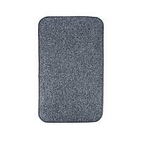 Електричний килимок з підігрівом Теплик з термоізоляцією 100 х 150 см Темно-сірий, фото 1