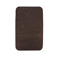 Електричний килимок з підігрівом Теплик з термоізоляцією 100 х 150 см Темно-коричневий, фото 1