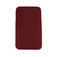 Електричний килимок з підігрівом Теплик з термоізоляцією 100 х 150 см Темно-червоний, фото 1