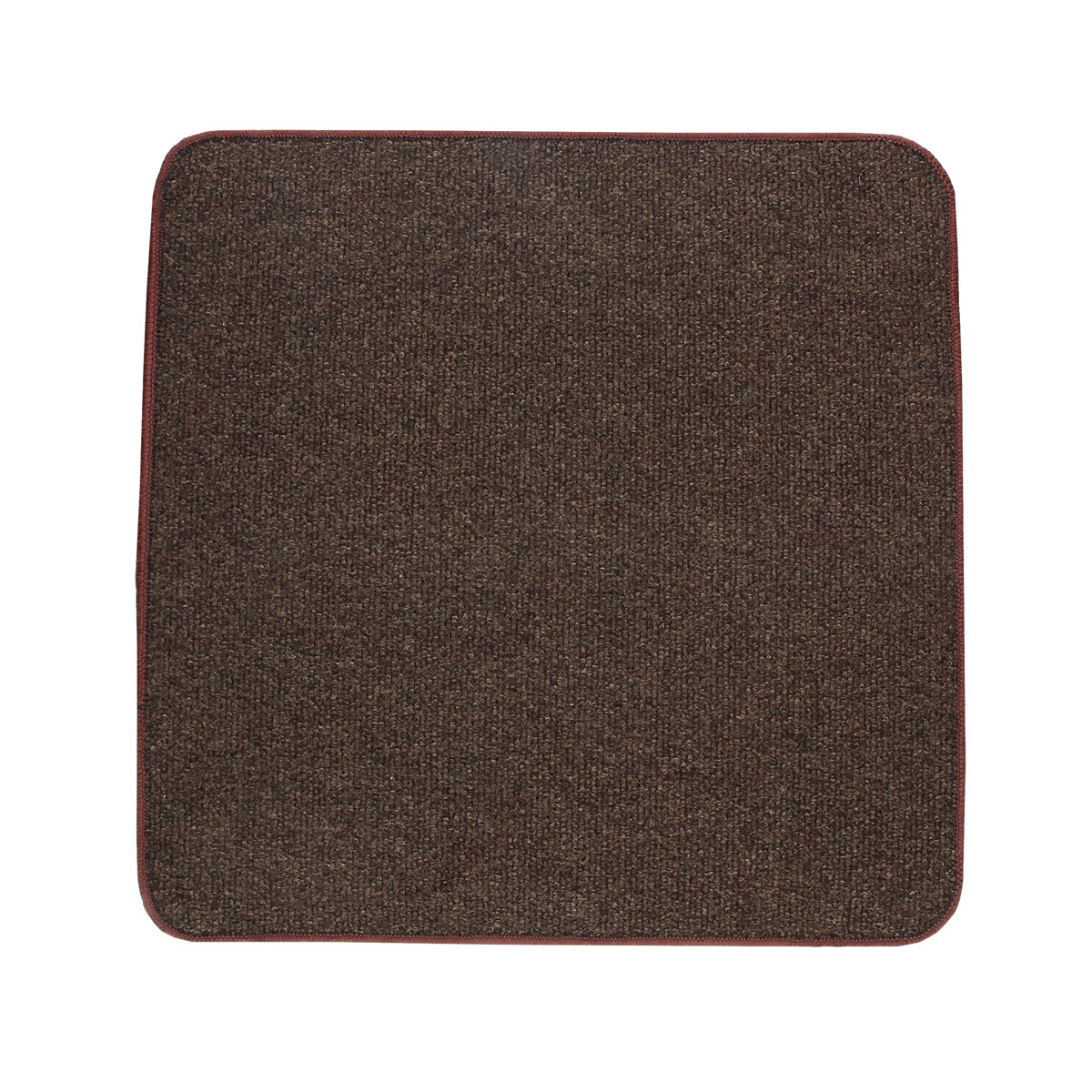 Електричний килимок з підігрівом Теплик з термо і гідроізоляцією 100 х 100 см Темно-коричневий
