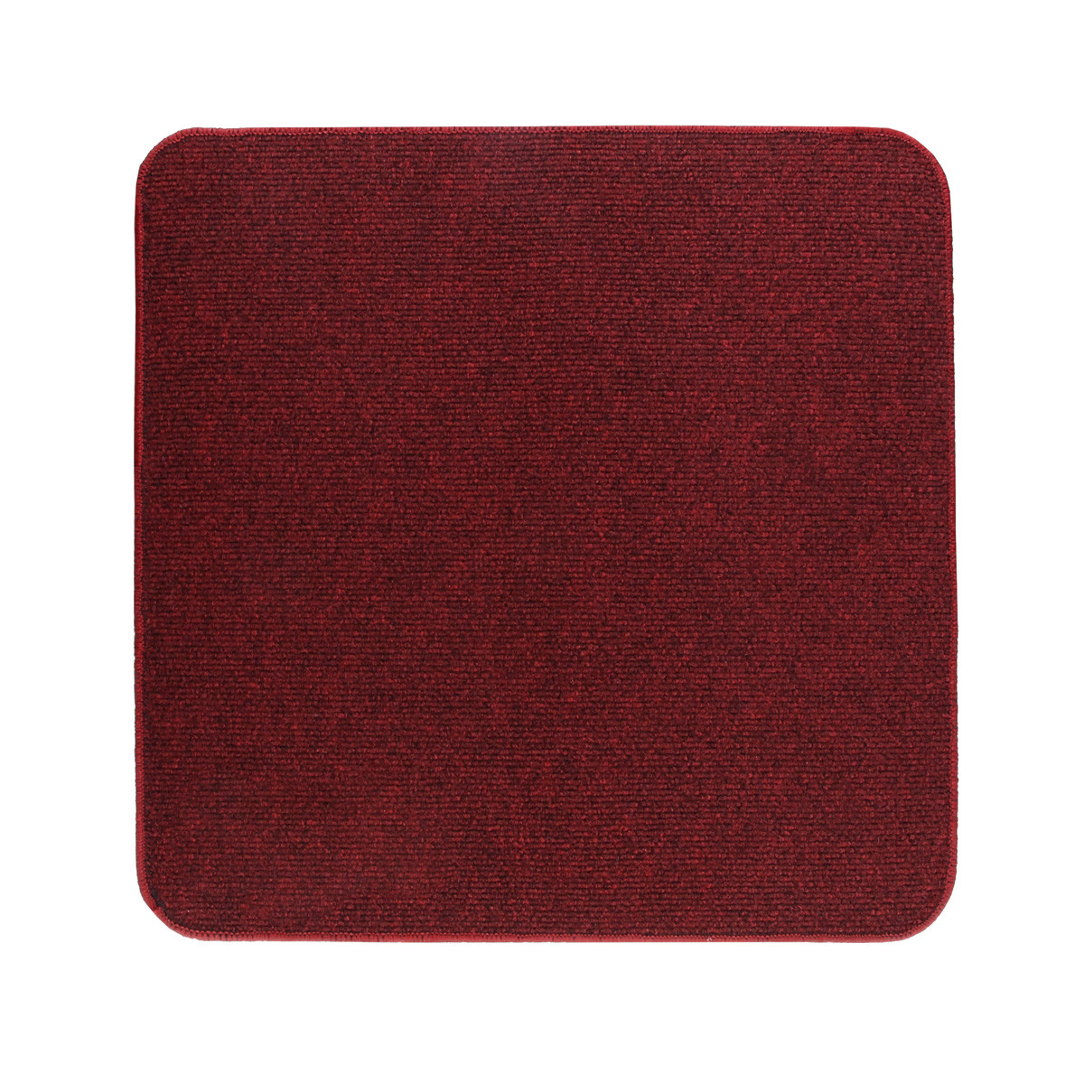 Электрический коврик с подогревом Теплик с термоизоляцией 100 х 100 см Темно-красный