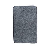 Електричний килимок з підігрівом Теплик з термо і гідроізоляцією 50 х 100 см Темно-сірий