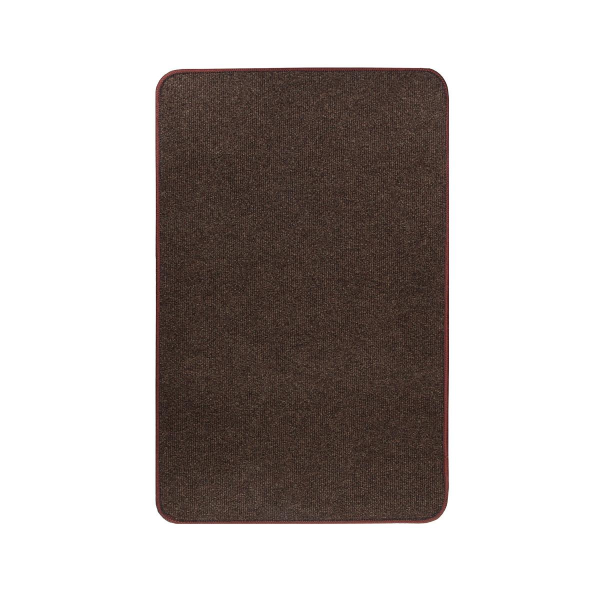 Електричний килимок з підігрівом Теплик з термоізоляцією 50 х 100 см Темно-коричневий