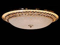 Настенно-потолочный светодиодный светильник хром/золото 50 см , фото 1