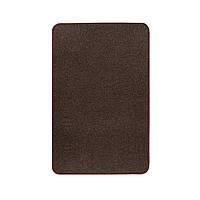 Електричний килимок з підігрівом Теплик з термоізоляцією 50 х 80 см Темно-коричневий