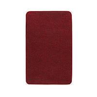 Електричний килимок з підігрівом Теплик з термоізоляцією 50 х 80 см Темно-червоний