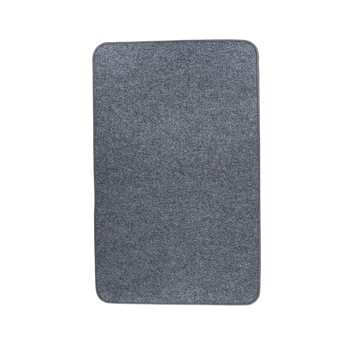 Електричний килимок з підігрівом Теплик двосторонній 50 х 80 см Темно-сірий