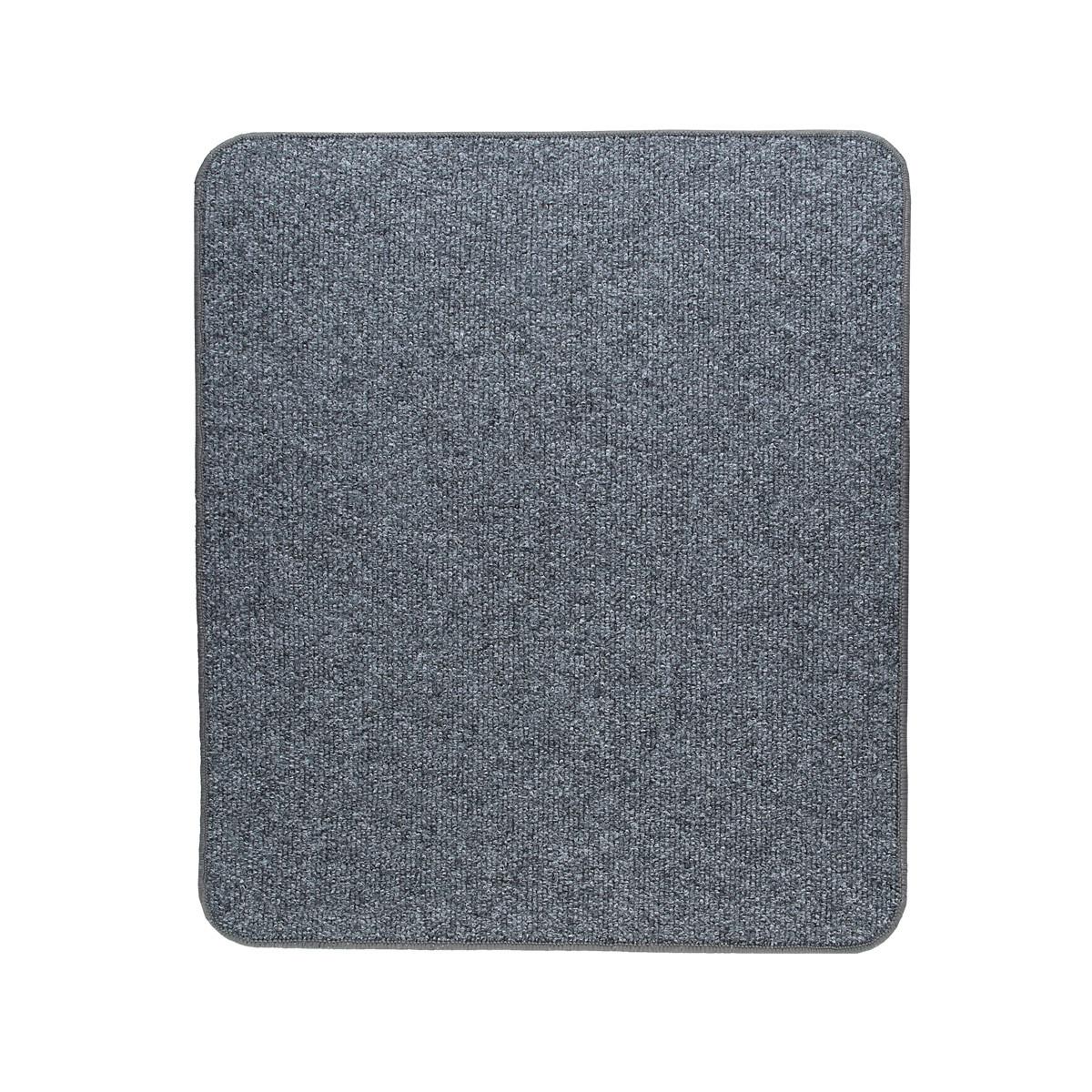 Електричний килимок з підігрівом Теплик з термоізоляцією 50 х 60 см Темно-сірий