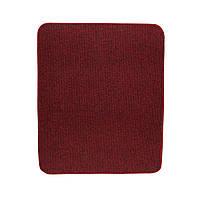 Електричний килимок з підігрівом Теплик з термоізоляцією 50 х 60 см Темно-червоний, фото 1