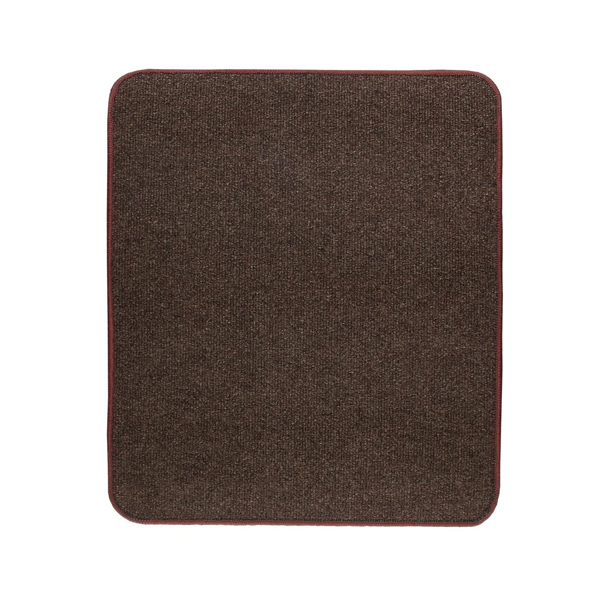 Електричний килимок з підігрівом Теплик двосторонній 50 х 60 см Темно-коричневий