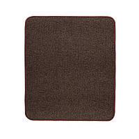 Електричний килимок з підігрівом Теплик двосторонній 50 х 60 см Темно-коричневий, фото 1