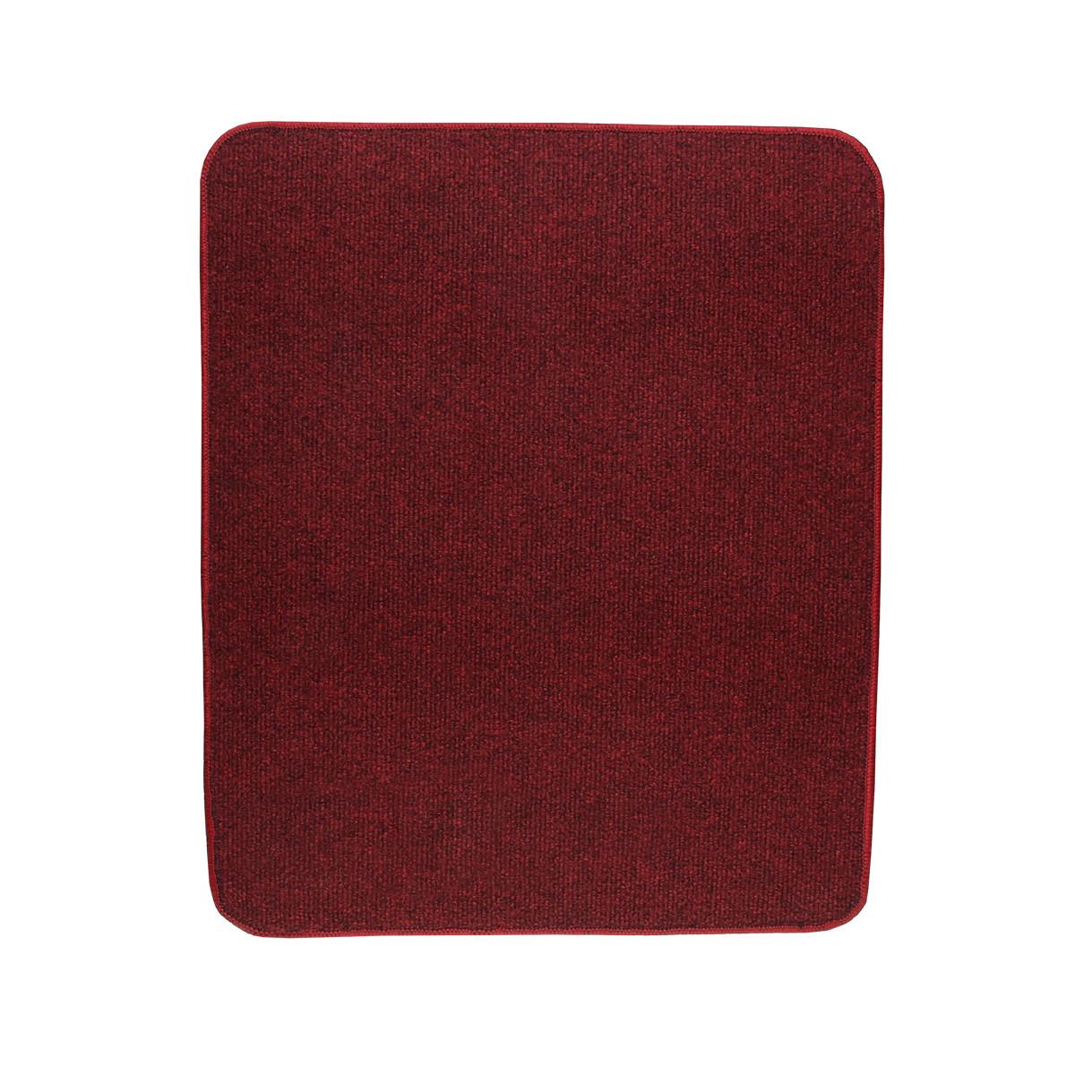 Електричний килимок з підігрівом Теплик двосторонній 50 х 60 см Темно-червоний
