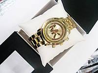 Женские кварцевые наручные часы Michael Kors Classic, Gold, фото 1