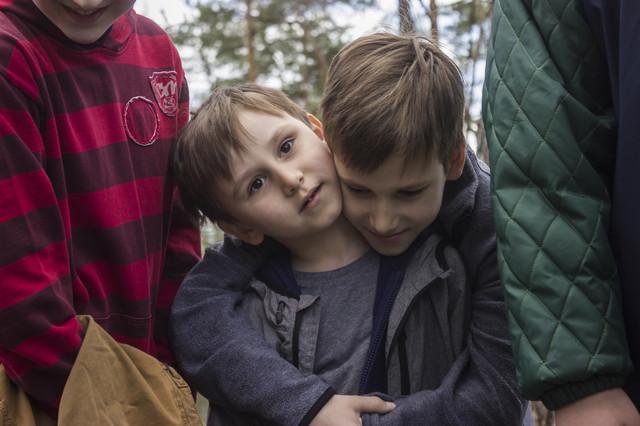 фото детский квест в лесу