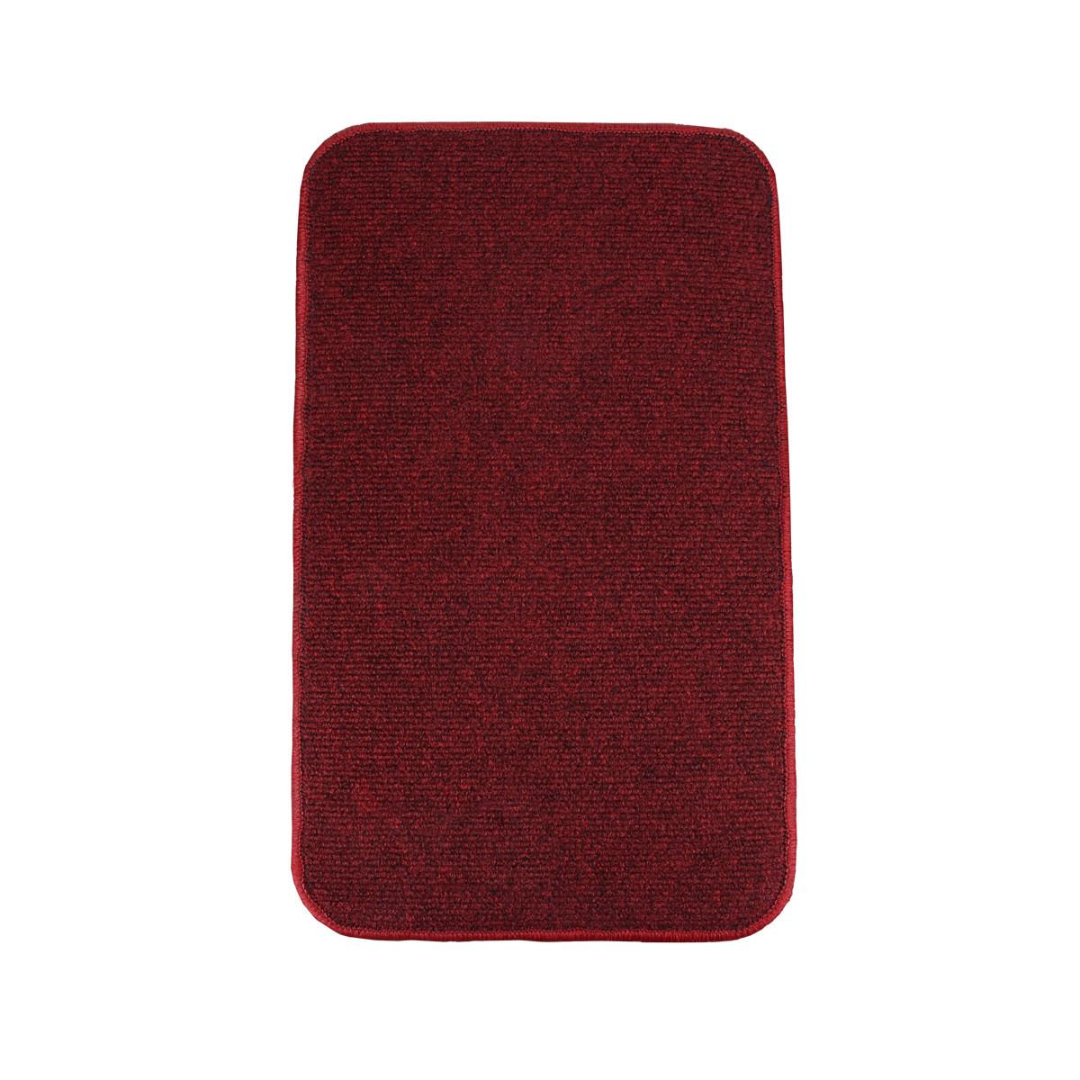 Электрический коврик с подогревом Теплик с термоизоляцией 50 х 30 см Темно-красный
