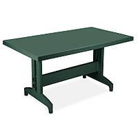 Стол Пластиковый Престиж / Prestige / Престиж 80×140 Зеленый (Papatya-TM)