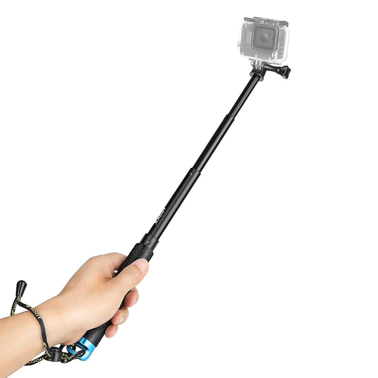Монопод телескопический SHOOT POV POLE 20-52 сm для GoPro Xiaomi SJCAM
