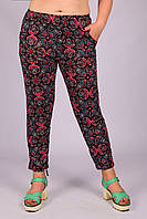 e89b9732 Женские лёгкие штаны с карманами Ира B312-25. 3XL-4XL. Размер 50. 46 ...