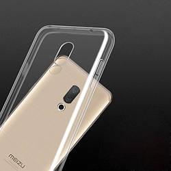 Накладка для Samsung Galaxy J600 J6 2018 силікон TPU Ultrathin Series 0,33 mm Прозорий