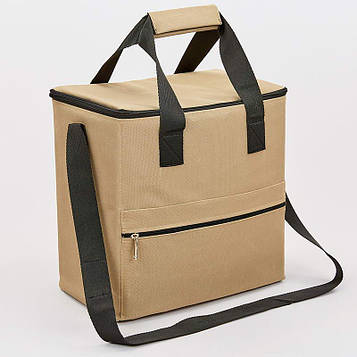 Термосумка (сумка-холодильник) с мягкой термоизоляцией 15л (р-р 25х30х20см)
