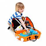 Дитячий валізу Trunki на 4 колесах Tipu Tiger (18 л.), фото 4