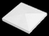 Крышка для заборов - конусная, 680х680х110, перлина, Авеню
