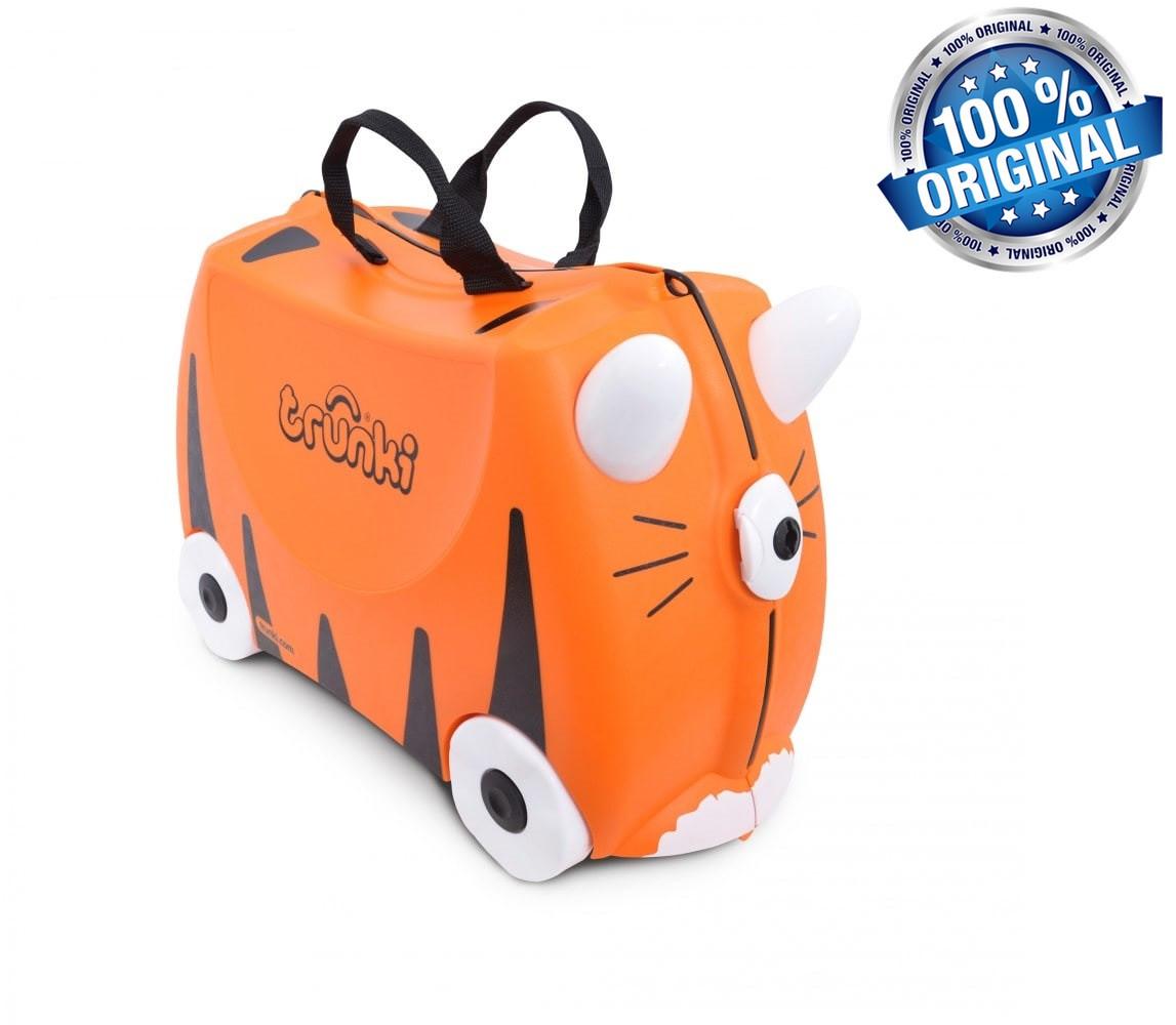Дитячий валізу Trunki на 4 колесах Tipu Tiger (18 л.)