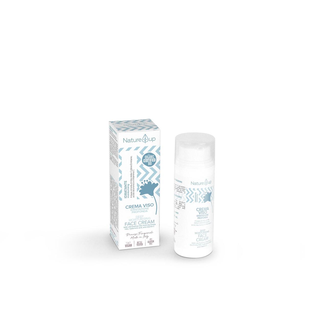 Глубоко увлажняющий крем для лица Nature UP Bema Cosmetici,50 мл