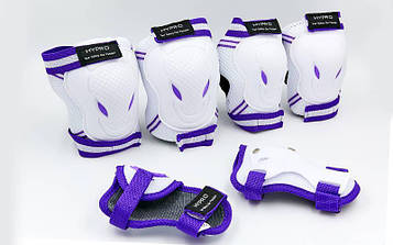 Защита детская наколенники, налокотники, перчатки HYPRO SK-6967W