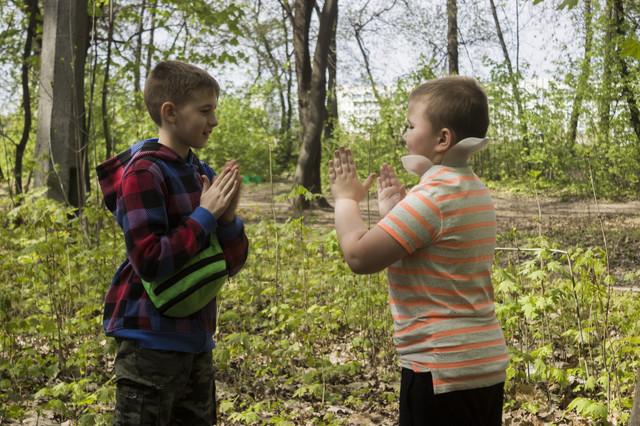 фото квест в лесу