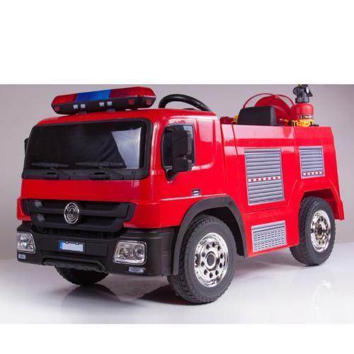 Детский электромобиль Пожарная M 4051EBLR-3 красный