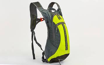 Рюкзак спортивний з жорсткою спинкою GA-2082 (нейлон, р-р 31х8х43см)