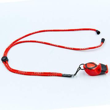 Свисток суддівський пластиковий FOX40-EPIK CMG (115dB, на шнурі, кольори в асортименті)