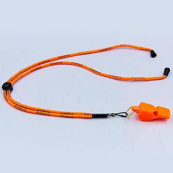 Свисток суддівський пластиковий FOX40-MINI (109dB, на шнурі)