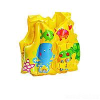 Детский надувной жилет Intex 59661 «Рыбки», 41 х 30 см, фото 1