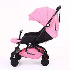 Детская коляска Yoya care Розовая (YY2018YP21)