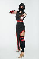 Ниндзя девушка женский карнавальный костюм \ размер универсальный \ BL - ВЖ321