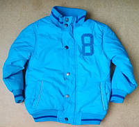 Детская демисезонная куртка на мальчика 5 лет Б/У