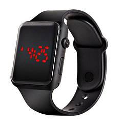 Часы наручные электронные Черные (9652)