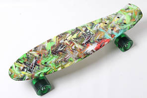 Скейт PENNY BOARD Green Cane (1615)