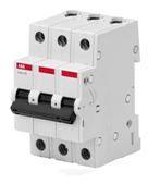 Автоматический выключатель ABB Basic M 4,5kA х-ка C 3P 50А (BMS413C50