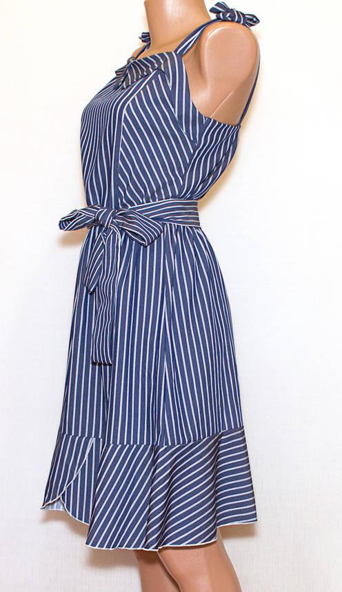 Повседневное платье-сарафан в полоску (44-46), фото 2
