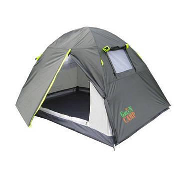 Двомісна Палатка Green Camp GC-1001A
