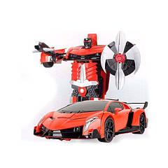 Машинка-трансформер на радиоуправлении Beat the Devil Оранжевая (86562)