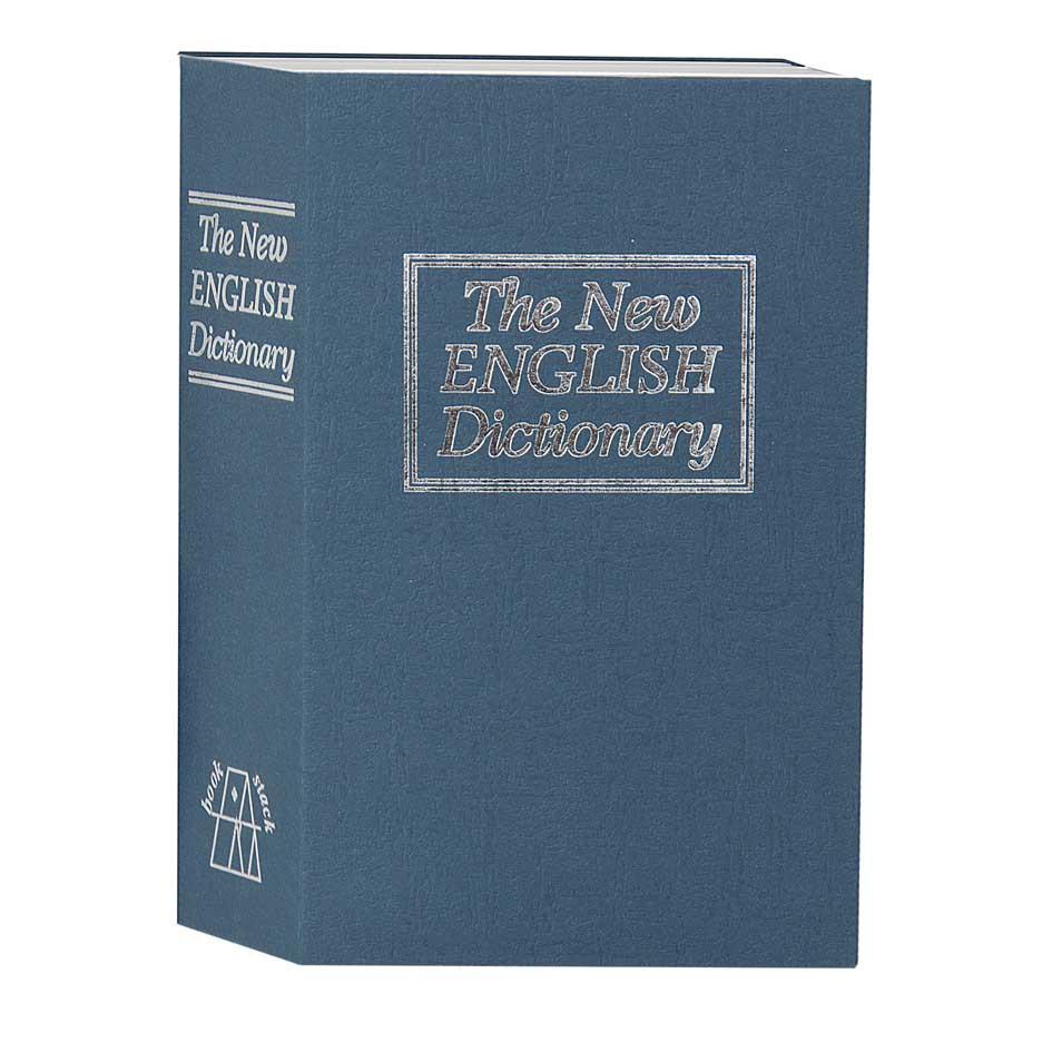 Сейф книга, коробка Английский словарь TS 0209 ключ