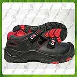 Сандали рабочие кожаные с металлическим носком CANIS CXS Rock Mica 800 S1P (натур.кожа), фото 4