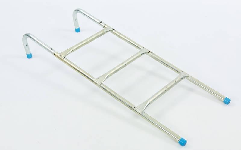 Драбина приставна для батута (алюміній, р-р-100х37см, для батутів від 12-ти до 16-ти ft)