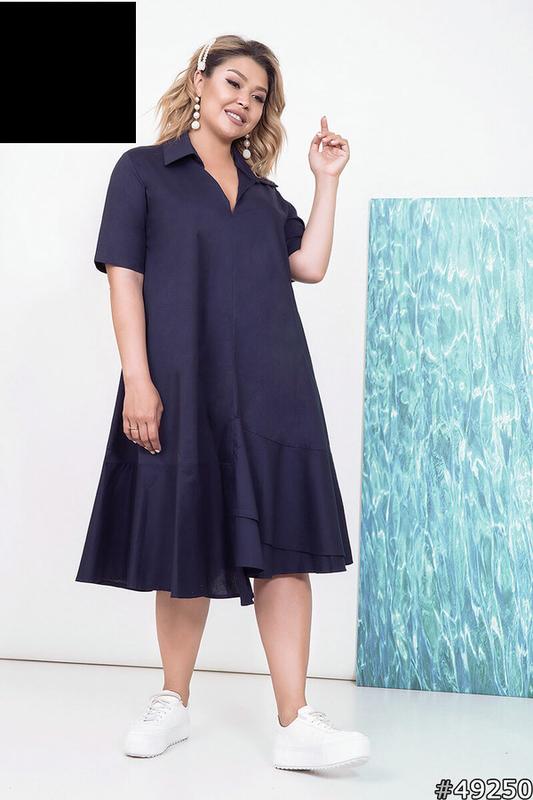 Платье женское летнее, размер:46-60
