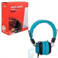 Наушники Sonic Sound E168 синие