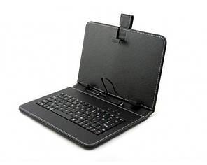 Обложка-чехол для планшета 7 с USB клавиатурой Черная (16845-nri)